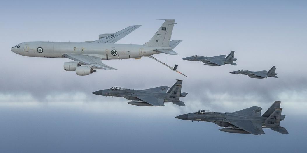 وظائف شاغرة لدى القوات الجوية السعودية