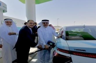 تدشين أول محطة لتزويد السيارات بوقود الهيدروجين في السعودية - المواطن
