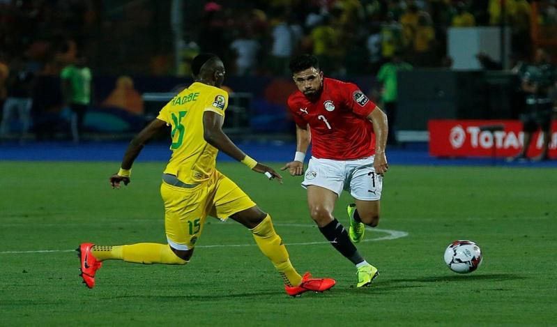 الفراعنة يخطفون الفوز بهدف نظيف في مباراة مصر وزيمبابوي