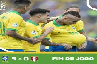 السيلساو يعبر بخماسية في مباراة البرازيل ضد بيرو - المواطن