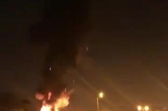 فيديوهات ترصد حريق محطة تحويل الكهرباء بحي النفل بالرياض - المواطن