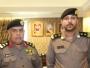 مدير شرطة مكة يقلد الملازم أول فارس الغامدي رتبته الجديدة