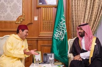 الأمير محمد بن سلمان يستقبل رئيس وفد المغرب للقمة الإسلامية - المواطن