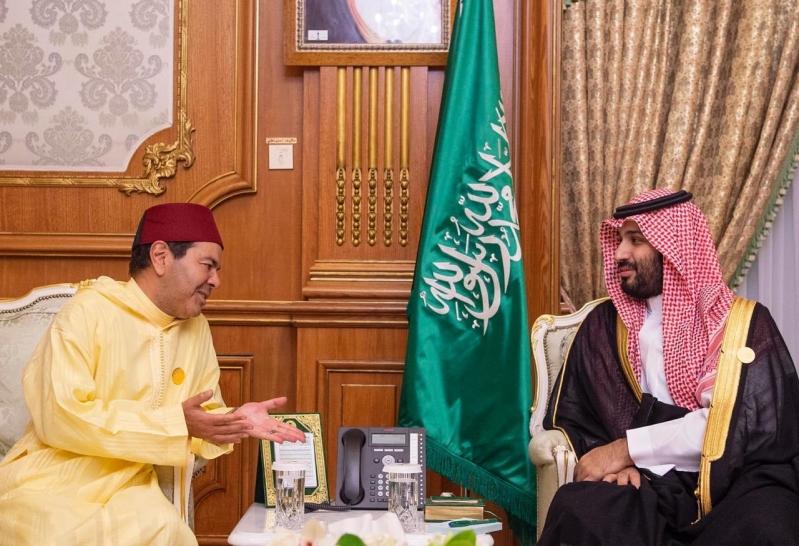 الأمير محمد بن سلمان يستقبل رئيس وفد المغرب للقمة الإسلامية