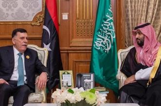 الأمير محمد بن سلمان والسراج يستعرضان العلاقات الثنائية - المواطن