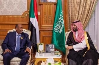 الأمير محمد بن سلمان يلتقي رئيس المجلس العسكري الانتقالي في السودان - المواطن