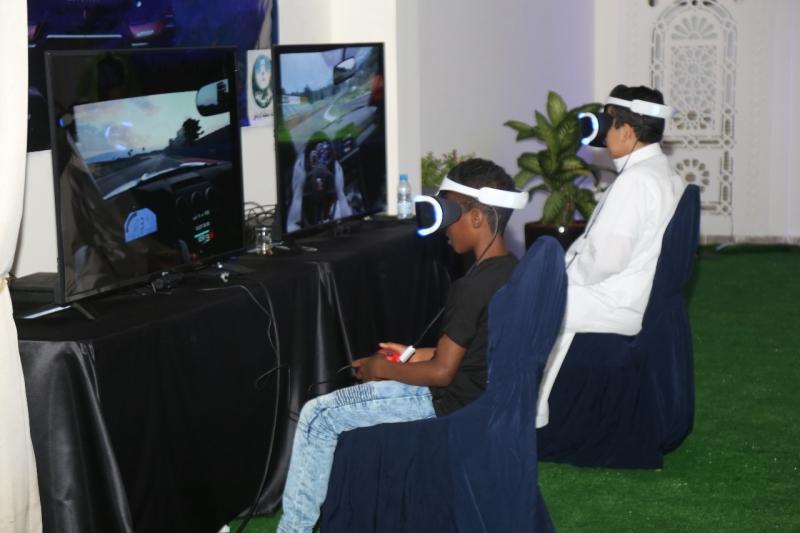 مسابقة للألعاب الإلكترونية ضمن فعاليات موسم العيد في الرياض - المواطن