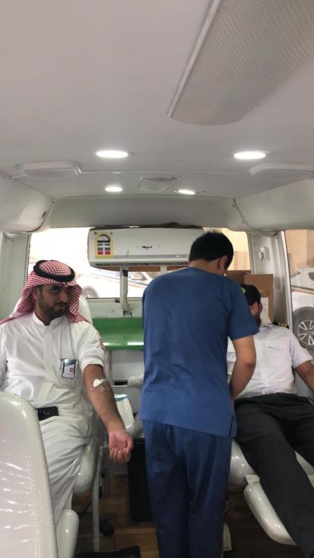 صحة حفر الباطن تنفذ حملة تبرع بالدم دعمًا لجنودنا البواسل