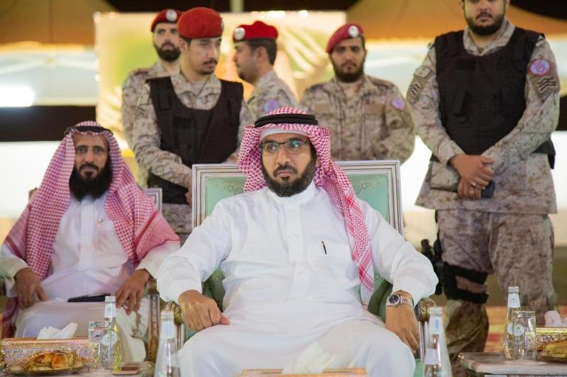 لقطات من حفل معايدة المرابطين وقوات التحالف في قاعدة الملك خالد الجوية
