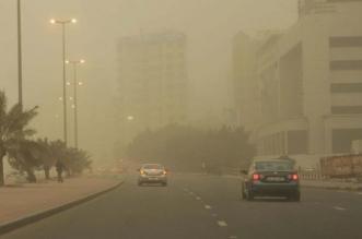 موجة غبار كثيف تجتاح 3 طرق - المواطن