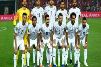 الفراعنة قبل مباراة مصر ضد جنوب أفريقيا