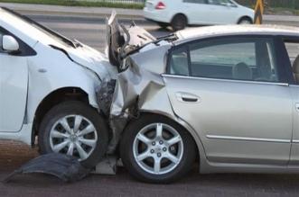 إصابة شخص في اصطدام مركبتين بأضم - المواطن