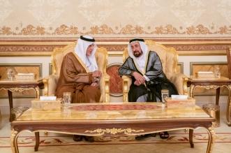 الفيصل يقدم واجب العزاء لحاكم الشارقة في وفاة خالد بن سلطان القاسمي - المواطن