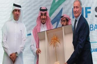 الفيصل يدشن شعار سوبر جلوب - المواطن