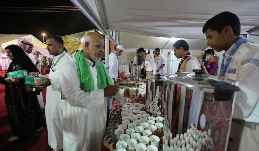 أبو عجرم تستقبل طلائع الحجاج العراقيين