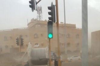 حوادث في ينبع بسبب الغبار والأمطار - المواطن