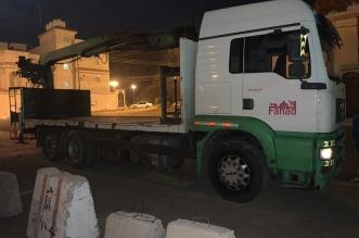 مرور العلا يضبط قائد شاحنة عكس السير - المواطن