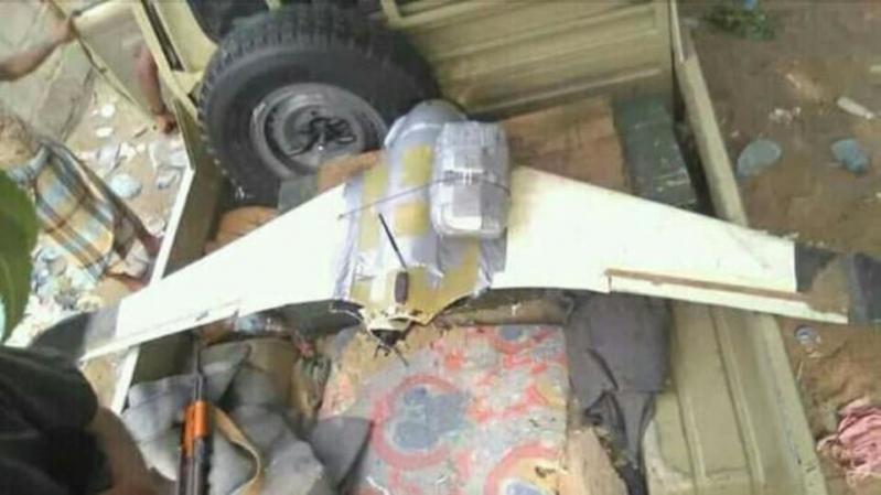 الجيش اليمني يسقط طائرة استطلاع حوثية جنوب الحديدة