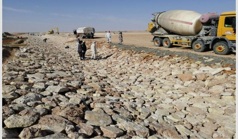 أكثر من 97 مليون ريال لحماية حفر الباطن من السيول