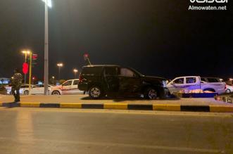 3 إصابات في حادث تصادم بحفر الباطن - المواطن