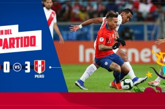 بيرو تُسقط تشيلي بثلاثية وتعبر لنهائي كوبا أمريكا 2019 - المواطن