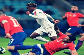 نجم الهلال يُمتع بسحره في مباراة بيرو وتشيلي - المواطن