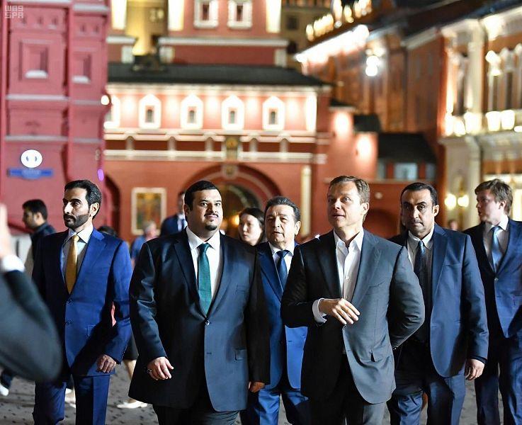 أمير الرياض بالنيابة يشرف العشاء الذي أقامه نائب عمدة موسكو