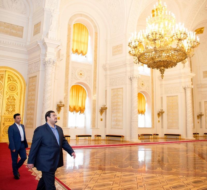 أمير الرياض بالنيابة يزور الكرملين