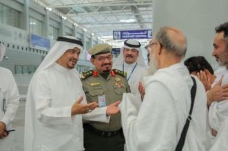 صور.. وصول أولى رحلات الحجاج القادمين إلى المملكة ووزير الحج في استقبالهم - المواطن