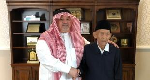 الملك يوجه بتلبية رغبة مسن إندونيسي