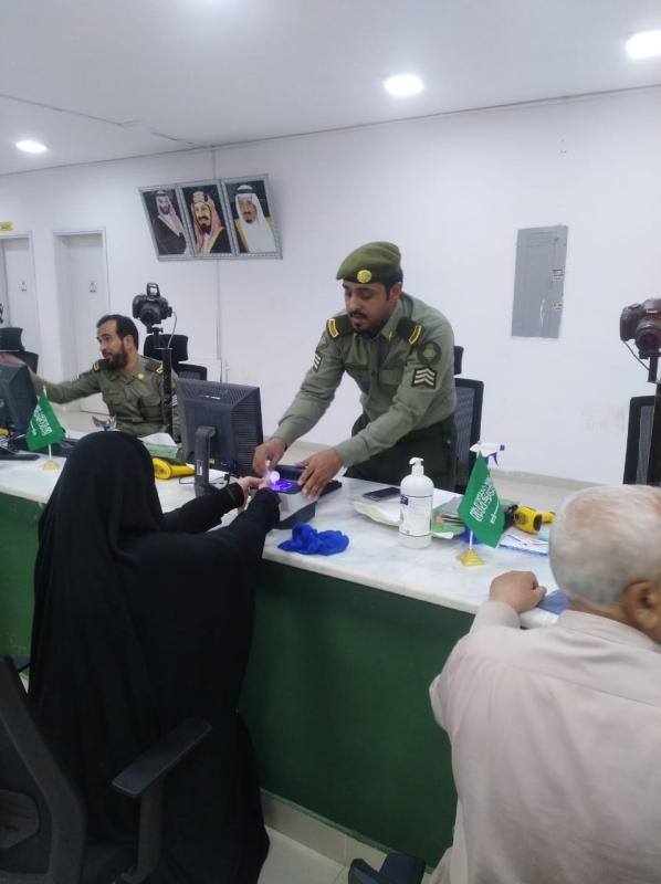 لقطات لاستقبال الدفعة الرابعة من حجاج العراق