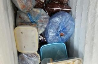 ضبط 850 كجم مواد غذائية مجهولة المصدر بعرعر - المواطن