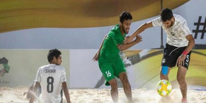 مصر تهزم أخضر الشاطئية   صحيفة المواطن الإلكترونية