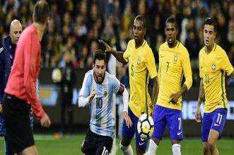 البرازيل ضد الأرجنتين