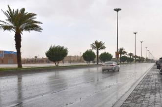 انخفاض درجات الحرارة اليوم مع أمطار - المواطن