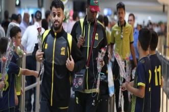 صور.. الاتحاد يصل بيروت لمواجهة العهد - المواطن