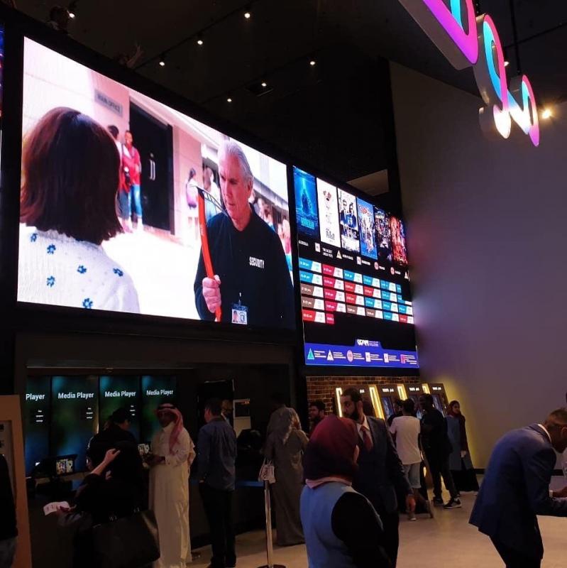فيديو تركي الشبانة يدشن موفي سينما في جدة بـ15 شاشة صحيفة المواطن الإلكترونية