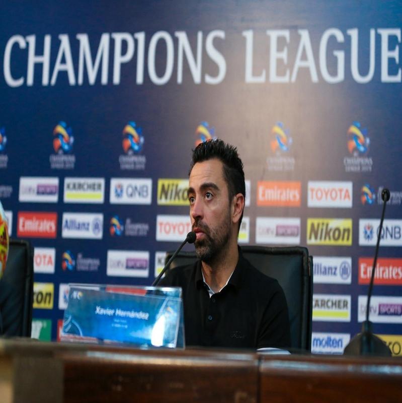 تشافي: مباراة الإياب ستكون صعبة لعودة حمد الله