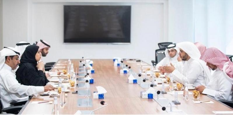 تماضر الرماح تبحث مع نائب وزير العدل تمكين المرأة