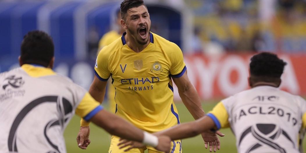 جوليانو الأفضل في مباراة النصر والسد اليوم