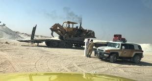 رصد كسارات مخالفة في الرياض