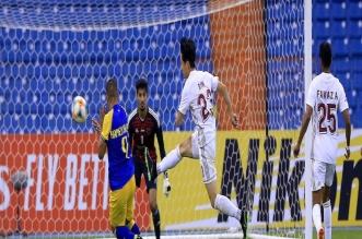 عبدالرزاق حمد الله أفضل لاعب في مباراة النصر والوحدة - المواطن