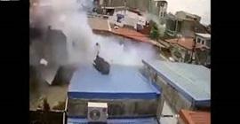 فيديو.. لحظة انفجار أنبوب غاز داخل منزل! - المواطن