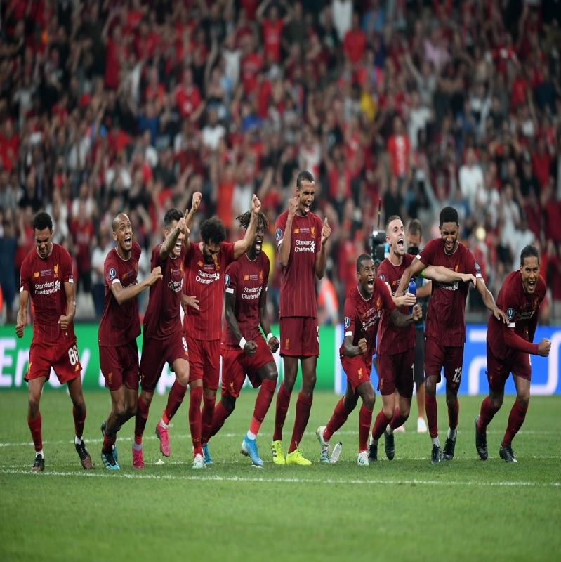 بركلات الترجيح.. ليفربول بطلًا لـ كأس السوبر الأوروبي