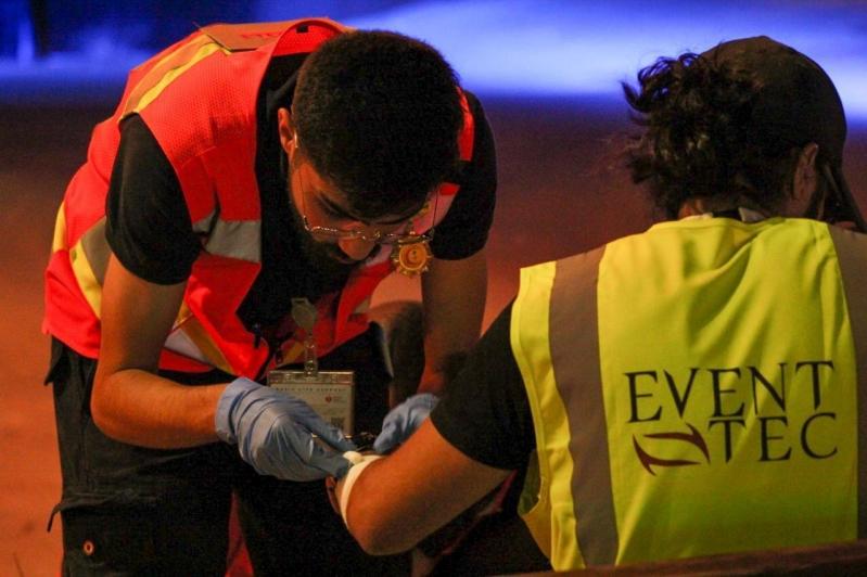 الهلال الأحمر : إصابات متوسطة في موسم الطائف