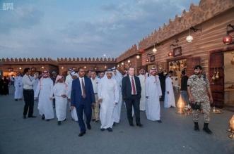 وفد دبلوماسي يضم 60 دولة يزور سوق عكاظ 13 - المواطن