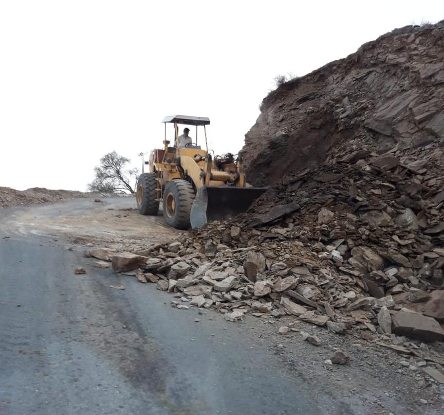 42 بلاغًا عن انهيارات صخرية في رجال ألمع بسبب الأمطار - المواطن