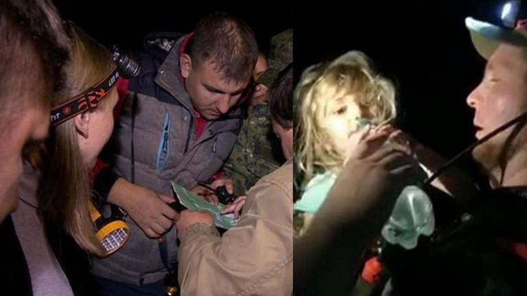 فيديو.. طفلة حية بعد 4 أيام من الفقدان في غابة خطيرة - المواطن