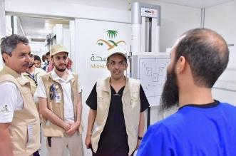 7450 حاجًا راجعوا عيادات الصحة المتنقلة بالمشاعر