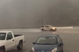 أمطار غزيرة على عقبة ضلع في عسير - المواطن